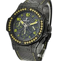 Hublot Big Bang Black Fluo Yellow Automatic in Black PVD Steel