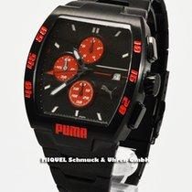 Puma Time Motorsport Leader Metal Black Herrenuhr