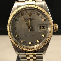 Rolex Oyster 505 Date Two Tone Gold Grey Dial 1505 Vintage 1971
