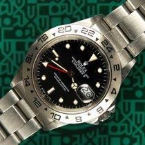 Rolex Explorer II 16550 black dial box 1987