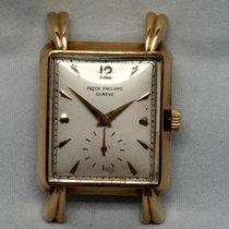 Patek Philippe 2440 FLUTED TEARDROP LUGS 18K YELLOW GOLD MADE...