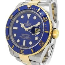 Rolex Oyster Perpetual Date 18K Gold/SS Submariner 116613G,...