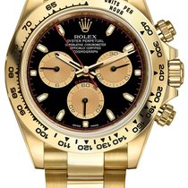 勞力士 (Rolex) Cosmograph Daytona Yellow Gold 116508 Black...