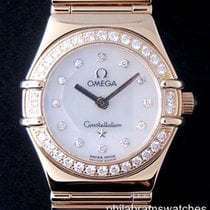 Omega Constellation Ladies Mini My Choice 1164.75.00 18k...
