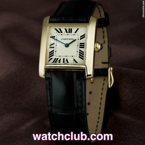 Cartier Tank Franaise Medium Size - Yellow Gold