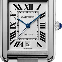 Cartier Tank Solo XL Automatic Silver Dial W5200028 T