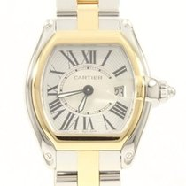 Cartier Roadster Stainless Steel & 18K Gold