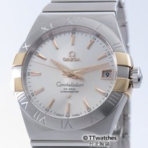 Omega Constellation Co-Axial 38mm 123.20.38.21.02.004 Retail...