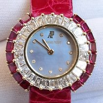 Audemars Piguet 26mm Mother-of-Pearl Dial Yellow Gold with...