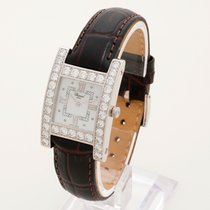 "Chopard ""H"" 13/6621 Box & Papers Full diamond..."