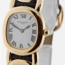 Patek Philippe 4830 Ellipse 18K Yellow Gold Womens Wrist Watch...