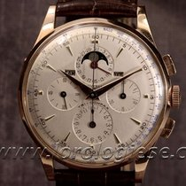 Universal Genève Tri-compax 18kt. Pink Gold 37,3 Mm Chronograp...