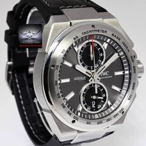 IWC Ingenieur Chronograph Racer Steel Mens Automatic Watch...