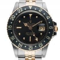 Rolex GMT Nipple Dial Stahl Gelbgold Automatik Armband Jubilé...