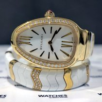 Bulgari Serpenti Spiga Ladies Watch - SPP35WGDWCGD1.1T