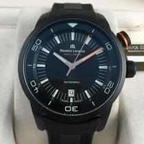 Maurice Lacroix Pontos S Diver 600m Black New With Tags- Men´s...