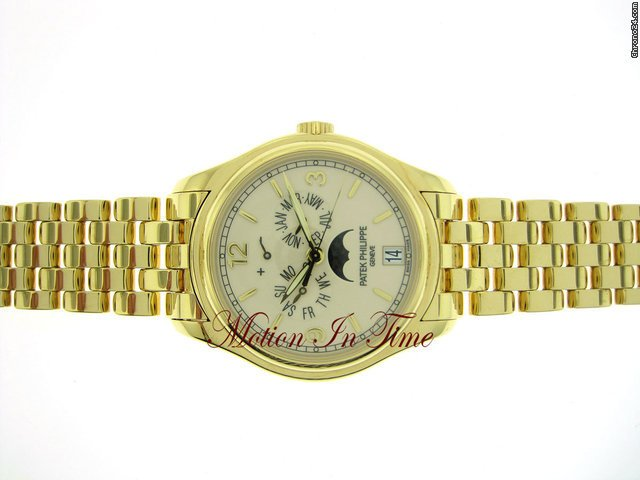 Patek Philippe 5146/1J ANNUAL CALENDAR MOONPHASE POWER RESERVE YELLOW GOLD