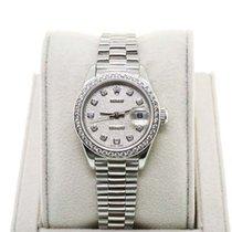 Rolex Datejust 79136 Platinum Presidential Diamond Jubilee Watch