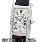 Cartier Tank Americaine 18k White Gold Date Auto 23mm Referenc...