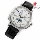 Maurice Lacroix Masterpiece Lune Retrograde Day/Date Moonphase...