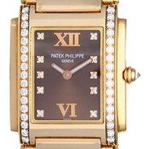 Patek Philippe Twenty-4 Ladies Medium Rose Gold & Diamond...