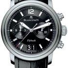 Blancpain Leman Flyback Chronograph & Big Date Mens Watch