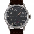 Davosa Pontus All Stars Regulator Stahl Handaufzug Lederband...
