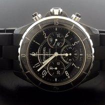 Chanel J12 CHRONOGRAPH BLACK