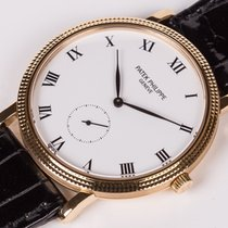 Patek Philippe Calatrava ref. 3919J - with box & papers -...