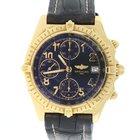 Breitling Chronomat Vitesse Yellow Gold Chronograph 41MM Watch...