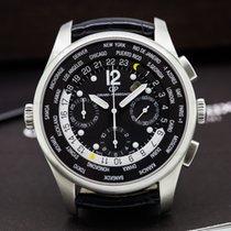 Girard Perregaux World Time WW.TC Chronograph Black Dial SS /...