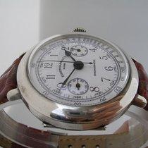 Eberhard & Co. Chronograph Replica Officer Silver Column...