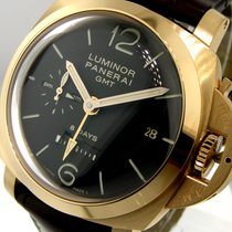 Panerai Unworn Pam 289 Rose Pink Gold 44 Mm Luminor 1950 Gmt 8...