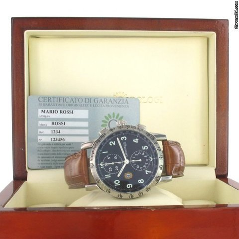 Eberhard &amp;amp; Co. Tazio nuvolari ref.31036