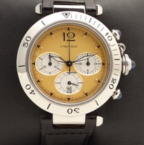 Cartier Pasha 38 mm Chronograph Stainless Steel