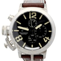 U-Boat Classico 48 Chrono Sterling Silver Limited Edition