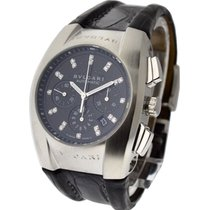 Bulgari EG35BSLDCH/12 Ergon Mid Size in Steel - on Strap with...