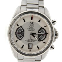 TAG Heuer Grand Carrera Cal 17 Chronograph Stainless Steel