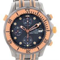 Omega Seamaster Titanium And 18k Rose Gold Watch 2296.80.00