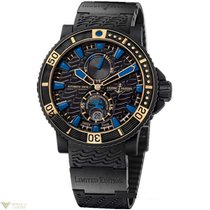 Ulysse Nardin Maxi Marine Diver Black Sea Stainless Steel and...