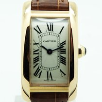 Cartier Tank Americaine Rose Gold