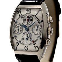 Franck Muller Master Banker Chronograph Ref-7850CC 18k White...