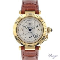 Cartier Pasha 38mm GMT Power Reserve Yellow Gold