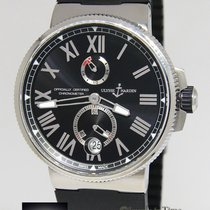 Ulysse Nardin Marine Chronometer Steel Mens 45mm Watch...