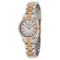 Bulova Accutron Masella White Mother of Pearl Dial Ladies Watch