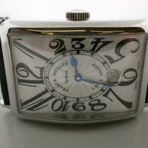 Franck Muller Long Island 1200 Sc Dt S/s 33mm By 45mm Auto...