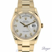 Rolex Day-Date 36 Yellow Gold Domed Oyster