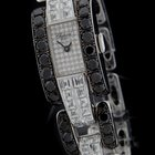 Chopard White Gold Full Diamond LA STRADA Black and White...