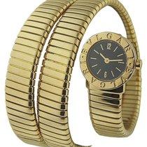 Bulgari BB191TY/12 Tubogas Serpent - Yellow Gold on Bracelet...