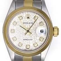Rolex Ladies Rolex Datejust Watch 79163 Silver Jubilee Dial